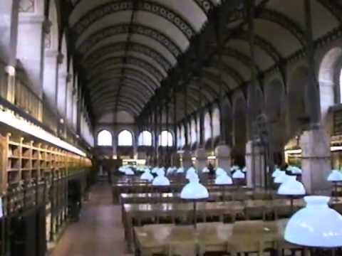 H.Labrouste 1844-50 Bibliotheque  S-Genevieve