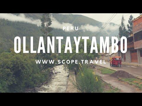 Ollantaytambo Town - Mavic Drone Footage - 4K