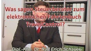 Elektronisches Fahrtenbuch TravelControl - Finanzamt