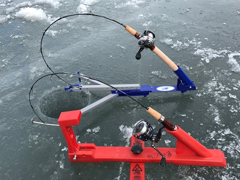 how to catch brown trout ice fishing
