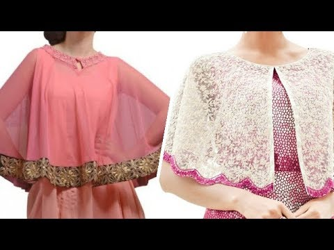 Trendy designer Indian Cape kurti / Churidar Style for women Collections