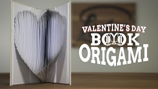 Book Origami Easy | Valentine's Day Gift Ideas for Him or Her