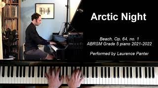 B:1 Arctic Night (ABRSM  Grade 5 piano 2021-2022)