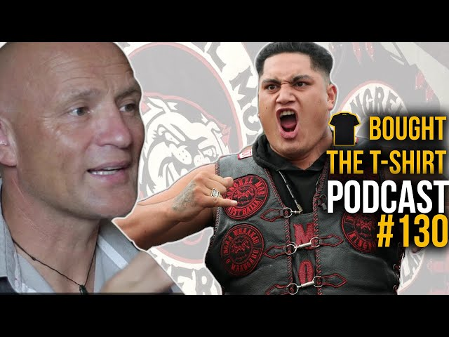 Tough New Zealand Cop Battles Mongrel Mob  |  Bought The T-Shirt Podcast #130