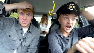 Vi kör taxi en hel dag