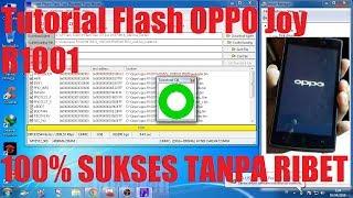 Tutorial Flash Oppo R1001 via SP Flashtool