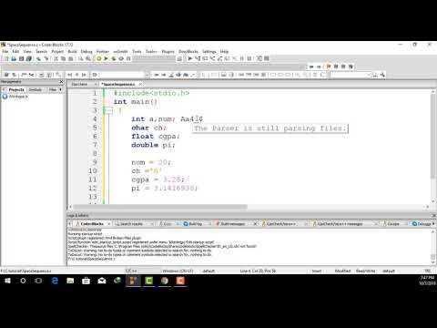 C programming Bangla Tutorial || Learn Keywords Variables and Data Types in C Language. thumbnail