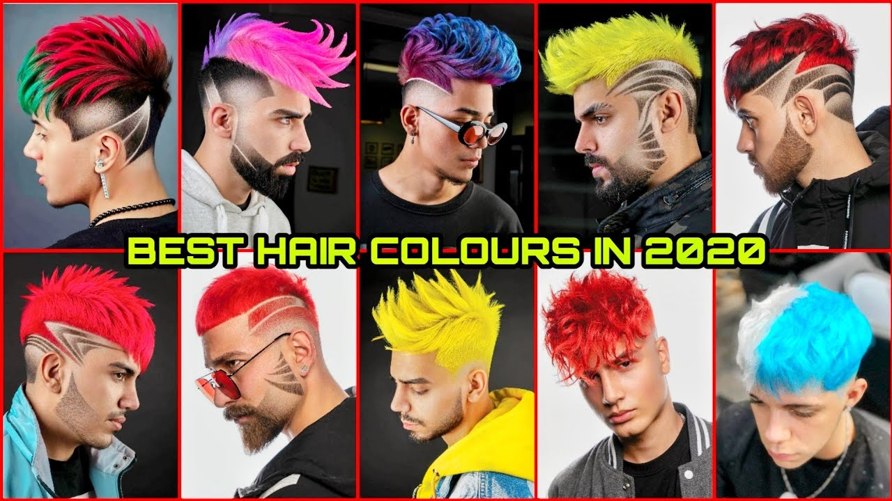 Men Hair Color Transformation Amazing Cool Hair Ideas New 2020 Trending Youtube