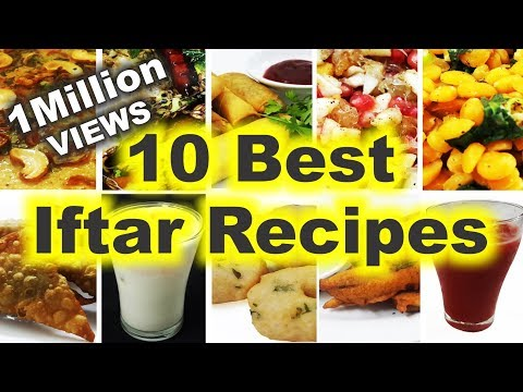 10 Best Iftar Recipes – How to Make Top 10 Iftar Dishes & Drinks for Ramadan – Easy, Quick & Simple