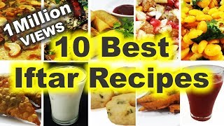 10 Best Iftar Recipes - How to Make Top 10 Iftar Dishes & Drinks for Ramadan/ with English Subtitles