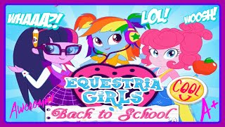 ♡ My Little Pony Equestria Girls Back to School ♡ Game for Baby Girls