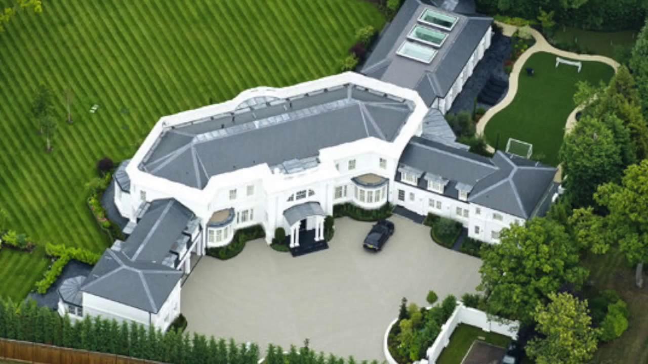 Le 10 case dei calciatori piu 39 lussuose youtube for Miglior software di costruzione della casa