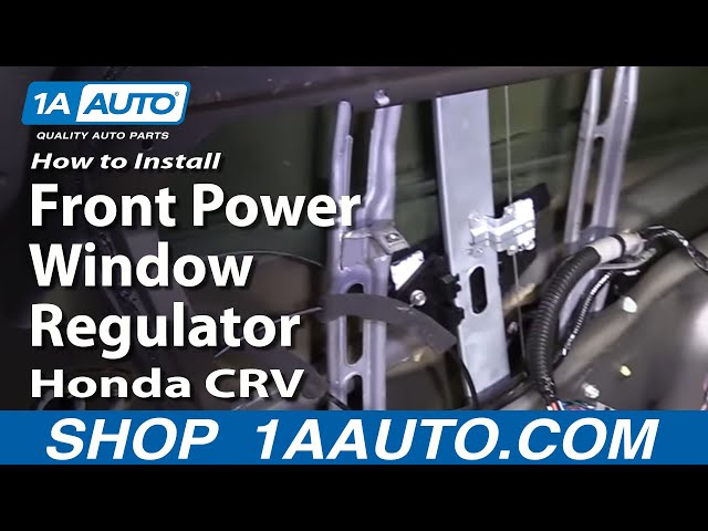 Front Driver Left Door Power Window Regulator Motor fits Honda CR-V 2002-2006