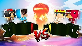 YOUTUBERS VS MISILES NUCLEARES!! 💥😱 MINECRAFT