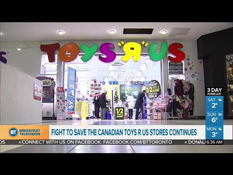 Toys 'R' Us Liquidation Sales In The U.S.