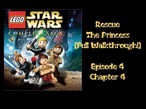 walkthrough rescue the princess lego star wars complete