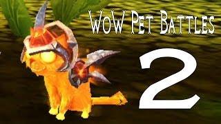 Mists Of Pandaria Pet Battles 2 | Vs The 1st Master Pet Trainer