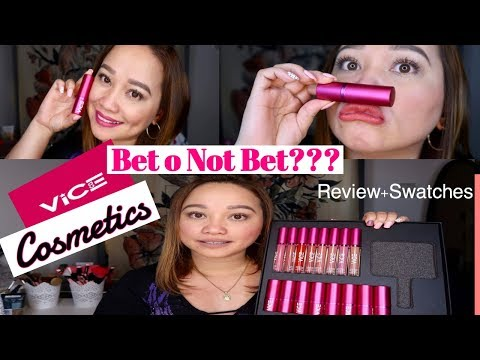 VICE COSMETICS Review & Swatches! / Churvah Reviews na naman!