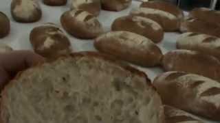 подовый хлеб, ярусная печь для выпечки хлебобулочных изделий(Часть вторая! Выпечка после расстойки в формах ринго пласта, Ringoplast - дышащие пластиковые формы для расстойк..., 2015-04-10T06:55:15.000Z)