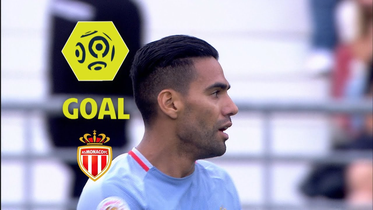 Goal Radamel FALCAO 37 Dijon FCO AS Monaco 1 4 2017 18