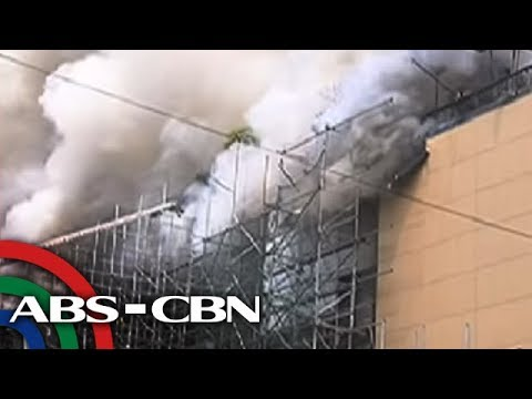 3 patay sa sunog sa bahagi ng Manila Pavilion hotel