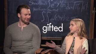 Backstage with Chris Evans & McKenna Grace for GIFTED
