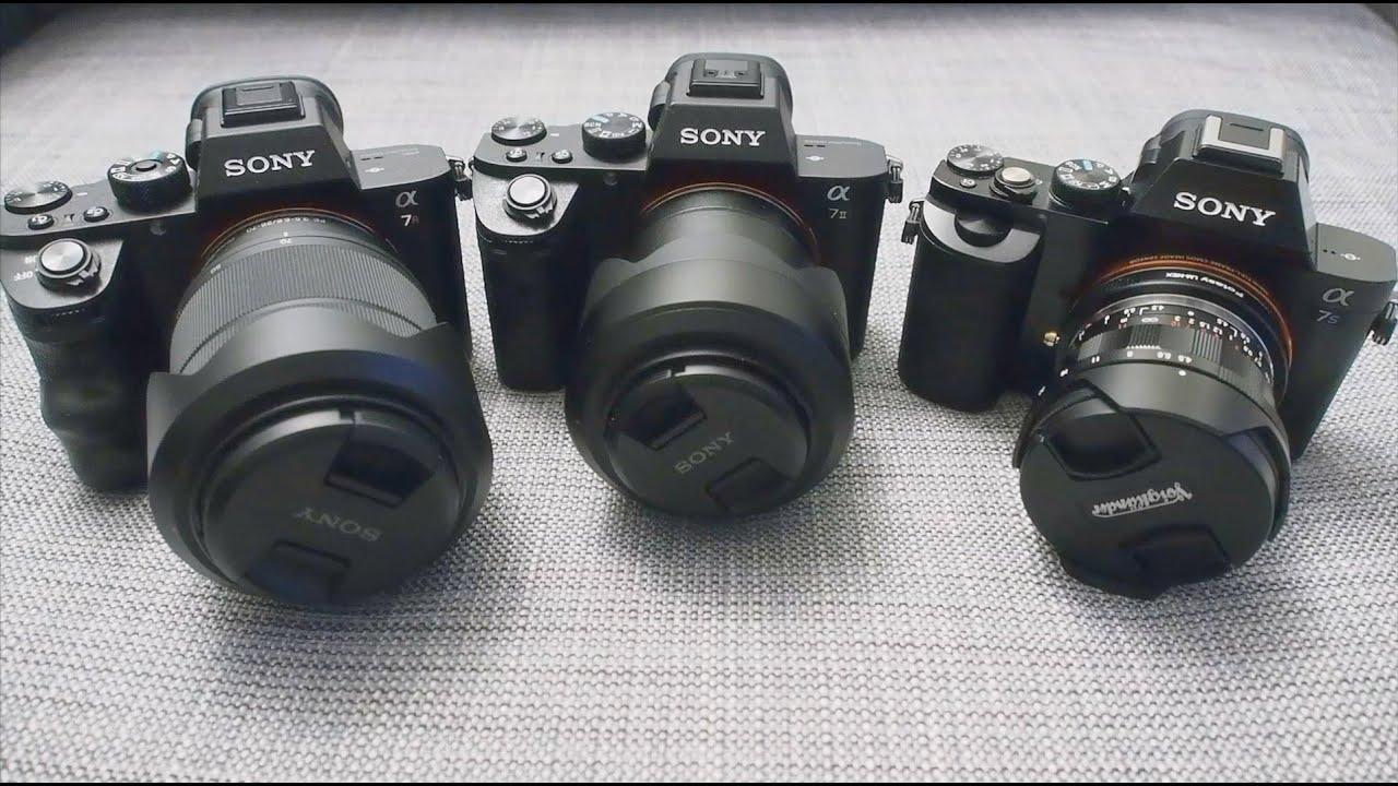 Sony A7r II vs. A7 II vs. A7S: Comparison