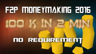 F2p Moneymaking Guide 2016: Daily Run