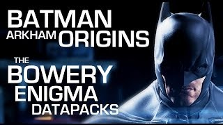 Batman: Arkham Origins Enigma Data Packs - The Bowery