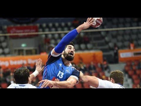 France vs Iceland - Handball WC 2015 (Qatar) - Last mins of game - Group C, Day 3 (20/01/2015 ...
