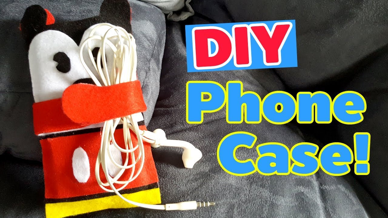 how to make a felt phone case