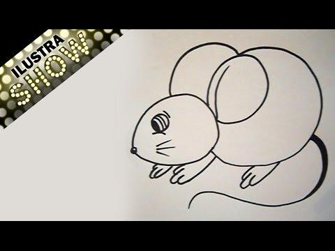 dibujar un ratón tutorial 2 ilustra show youtube