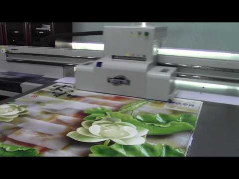 High performance ABS uv printing machine in Europe