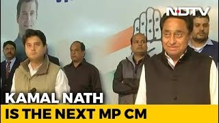 Kamal Nath Is Chief Minister Of Madhya Pradesh, Announces Congress
