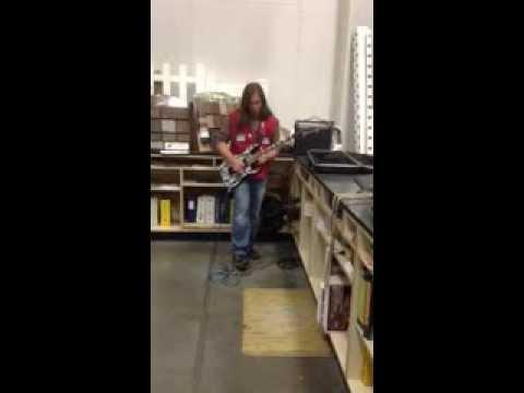 Bryan Martin Guitar solo
