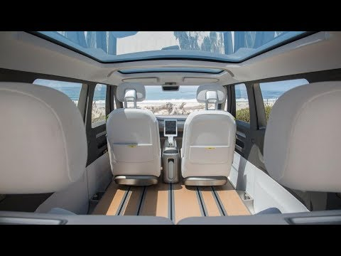 Volkswagen I D  Buzz concept fully electric and autonomous realease 2022