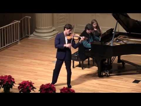 Charlie Siem - Franck Sonata for violin and piano - LIVE Recording