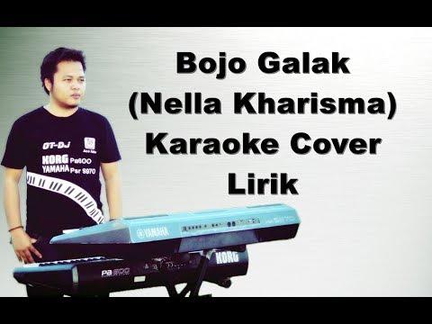 Bojo Galak | Nella Kharisma | Karaoke Yamaha Psr s970