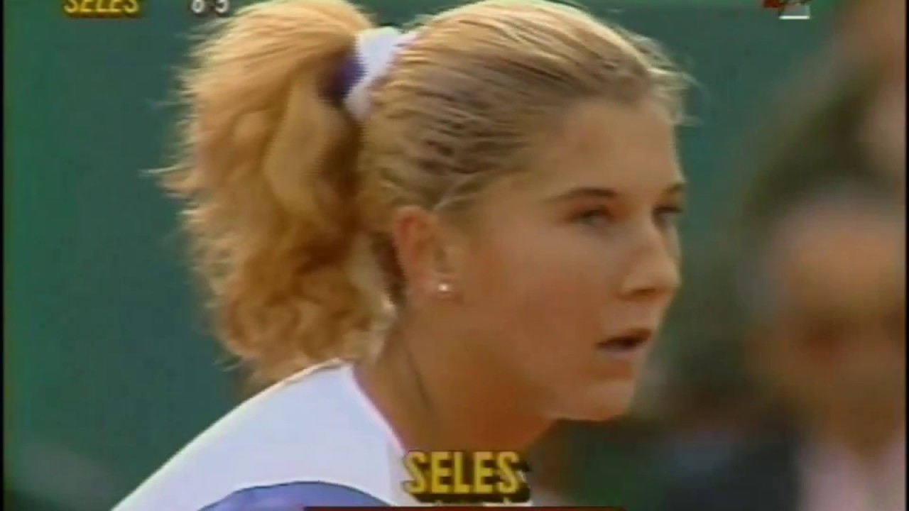 Monica Seles vs Jennifer Capriati 1990 RG Highlights