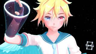 【MMD】electric angel YYB kagamine rin and len (+DL)