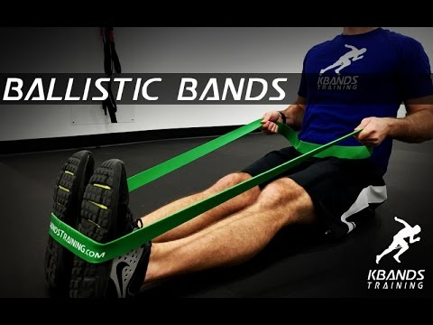 c416398f3457f Ballistic Bands Cross Training Resistance Bands - YouTube