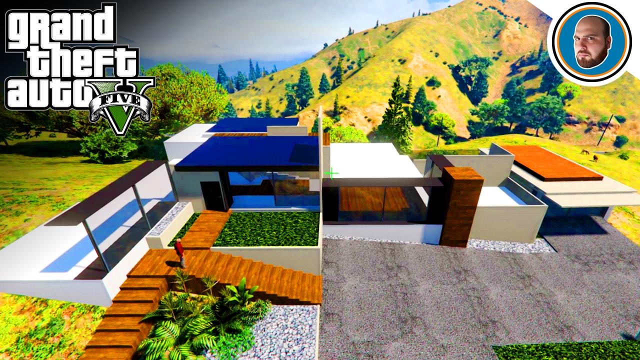 Gta 5 mod costruire una villa moderna 3 secondo piano e for Costruire una villa