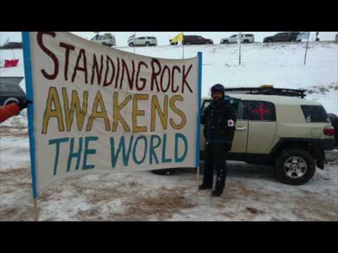 Podcast #13: Stories From A Medic At The Standing Rock #NODAPL Protests - Andy Hardy