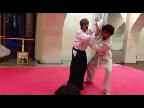 Ushirowaza Katatetori Kubishime Ikkyo - M° Rino Bonanno