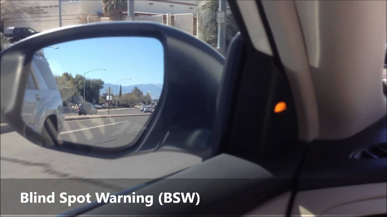 2013 Nissan Altima Blind Spot Warning Bsw Lane