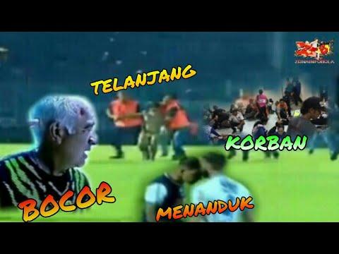 Full Video !!! Kejadian pada laga Arema vs Persib, sampai kepala  mario gomez bocor
