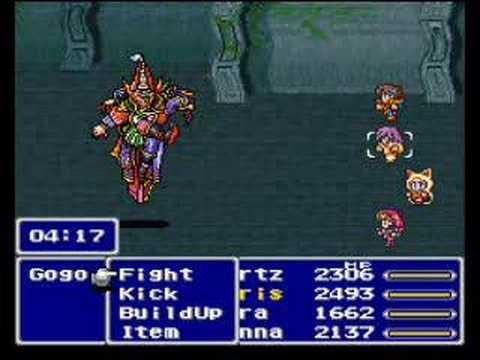 Final Fantasy V - Gogo Boss 47