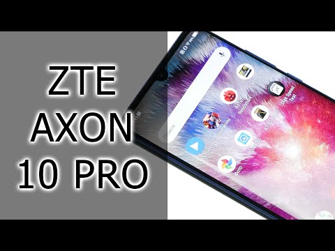 ОБЗОР | ZTE Axon 10 Pro - прилежный флагманский смартфон