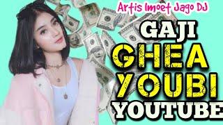 Gaji Ghea Youbi dari Youtube ⁉️ Penghasilan DJ Imut