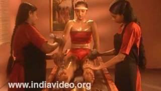 Oil massage, Ayurveda, Panchakarma, Kerala, India